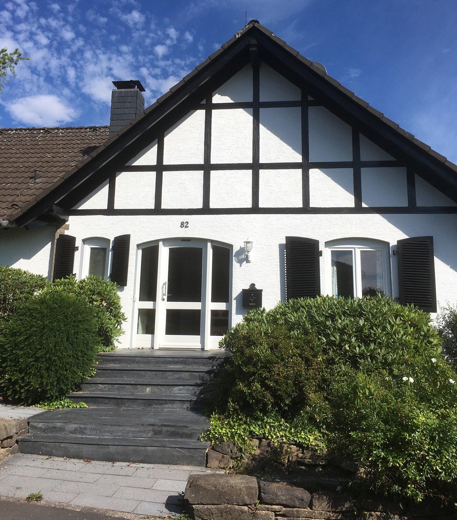 Fassadenanstriche Fachwerk
